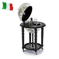 Глобус бар Zoffoli 550005 58×58×90 см чёрно-белый