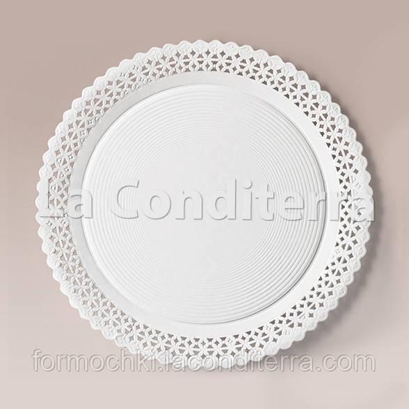 Тарілки ажурні Salaet ARIES, круглі d=28 см