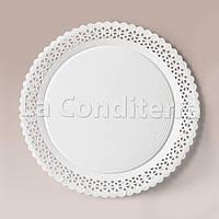 Тарелки ажурные Salaet ARIES, круглые d=28 см