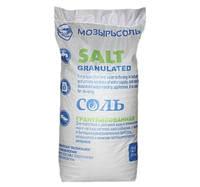 Гранулированная соль Мозырьсоль (Белоруссия)