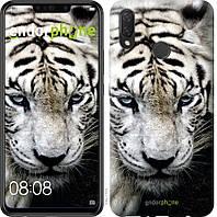 Чехол для телефона Huawei P Smart Plus Грустный белый тигр