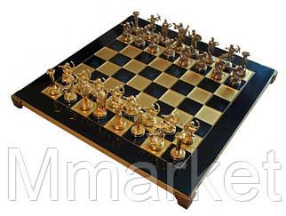 Шахматы Manopoulos 670022 36х36 см бронзовые