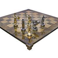 Шахматы Посейдон Manopoulos 550056 44х44 см бронзовые
