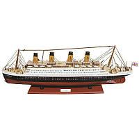 Декоративный корабль Sea Club 550162 80х29 см. деревянный