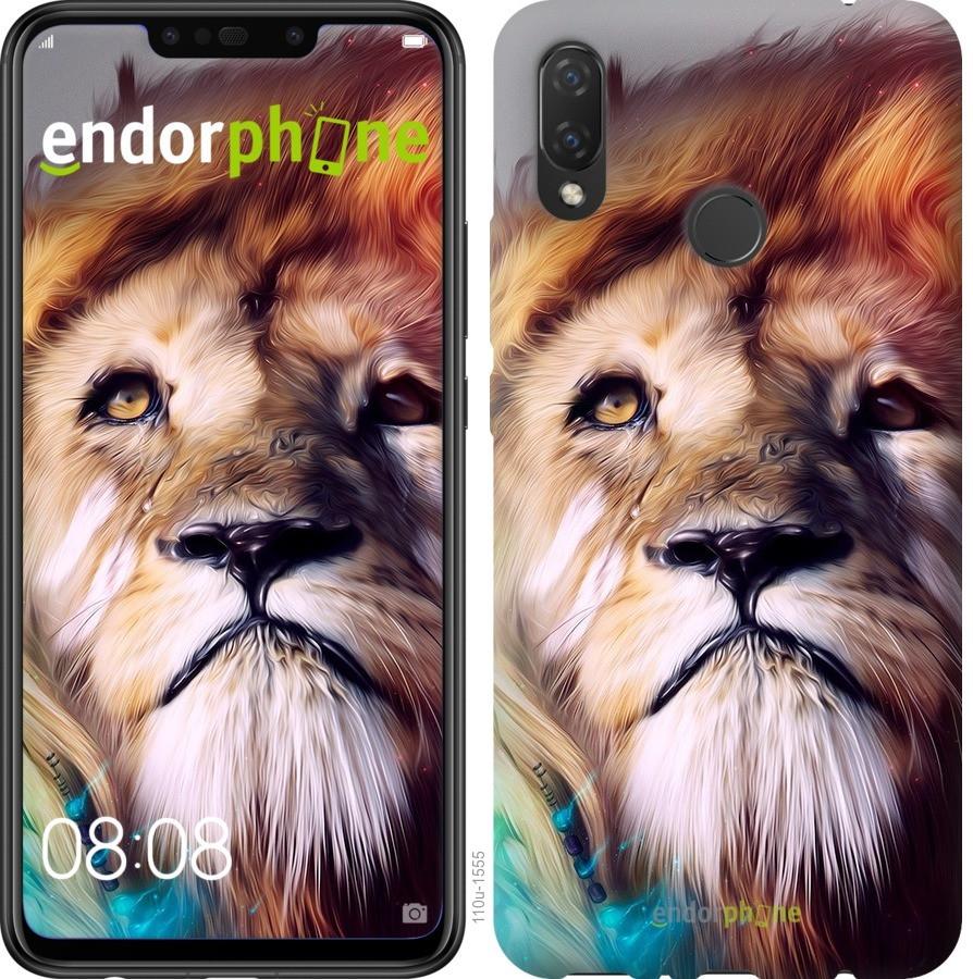 Чехол для телефона Huawei P Smart Plus Красочный лев