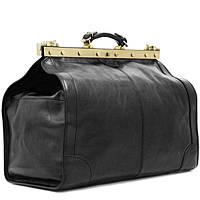 Дорожные сумки и саквояжи из натуральной кожи