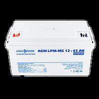 Аккумулятор мультигелевый AGM LPM-MG 12 - 65AH, фото 1