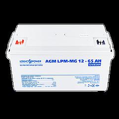 Акумулятор мультигелевый AGM LPM-MG 12 - 65AH