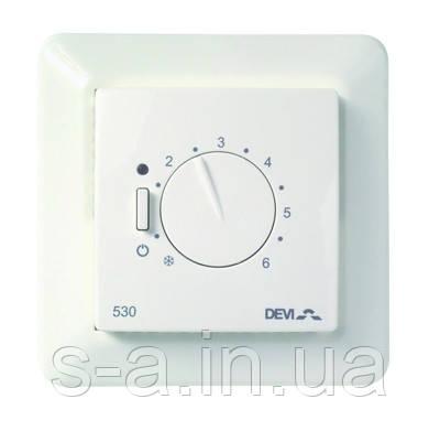 DEVIreg 527 Регулятор без датчика температуры,  с пропорциональным регулированием в интервале 30 мин.