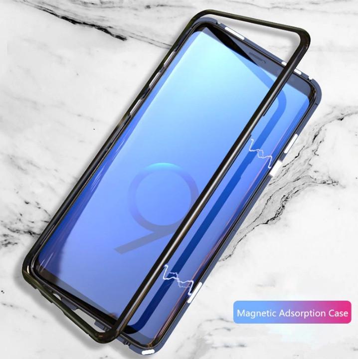 Магнитный металлический чехол Luphie для Samsung S9 G960