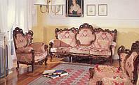 BTC Arcadia Классический уголок: Диван, 2 кресла Натуральное дерево Большой выбор оббивок арт.9/21