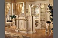 BTC Melograno арт 5067 Барная стойка классическая, барные стулья Натуральное дерево стр 118-119
