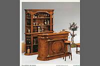 BTC Melograno арт 5042 Барная стойка классическая Барный стул Натуральное дерево