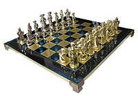 Шахматы Manopoulos 670013 44х44 см бронзовые
