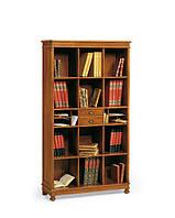 BTC Borco Antico 2859 классический шкаф для книг, натуральное дерево