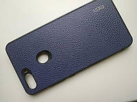 Чехол MOFI  для Xiaomi Redmi Mi 8 lite синий