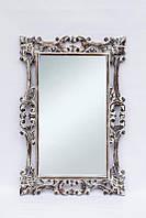 Зеркало на стену BST 530084 120*80 см бежевое Принцесса