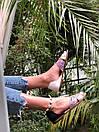 Сандалии женские с принтом Carlo Pachini (чёрные и белые), фото 3