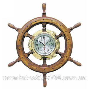Часы Sea Club 550126 63х63 см. деревянные