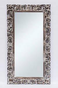 Зеркало настенное BST 530078 180*80 см коричневое Цветок