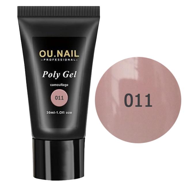 Полигель (акрил-гель) OU.Nail №011 30 мл