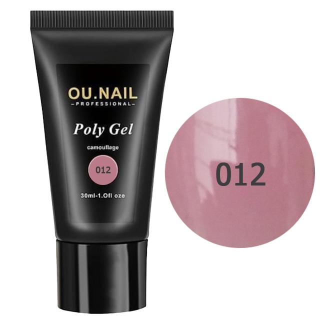 Полигель (акрил-гель) OU.Nail №012 30 мл