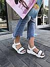 Сандалии кожаные женские Carlo Pachini белые, фото 4