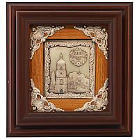 """Панно подарочное """"Софийский собор"""" BST 510018 29х27 см. коричневый"""
