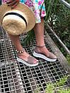Женские замшевые босоножки на платформе бежевого цвета (+ 9 других вариантов), фото 2