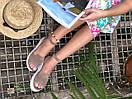 Женские замшевые босоножки на платформе бежевого цвета (+ 9 других вариантов), фото 4