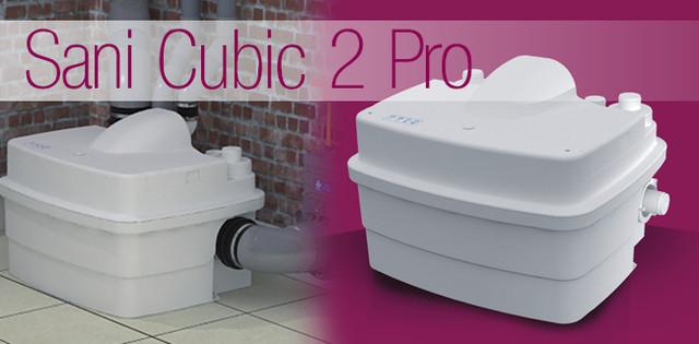 купить высокопроизводительную КНС  с режущим механизмом SANICUBIC 2 Pro
