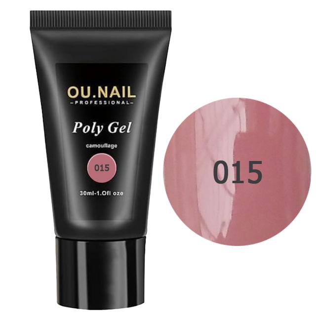 Полигель (акрил-гель) OU.Nail №015 30 мл