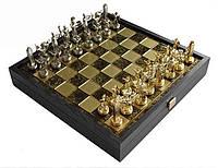 Шахматы Manopoulos 670031 34х34 см бронзовые, фото 1