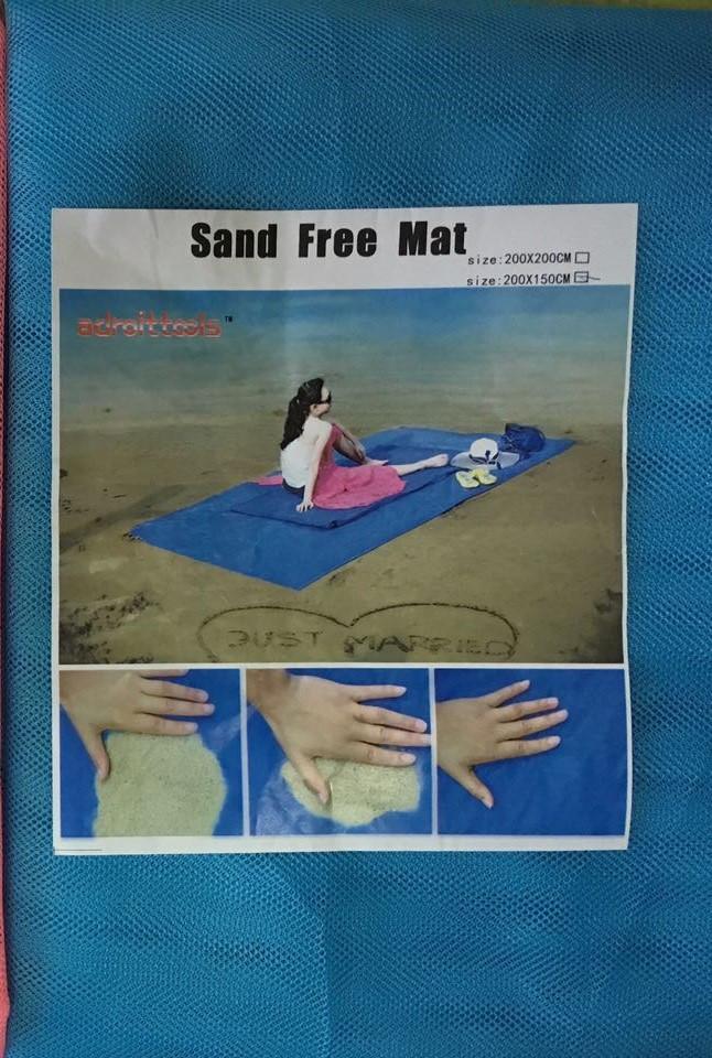 Покрывало антипесок, пляжное SandFree Mat 2х1,5м