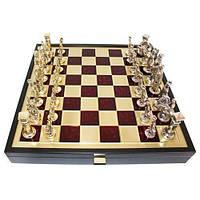 Шахматы Римляне Manopoulos 550067 40х40 см бронзовые