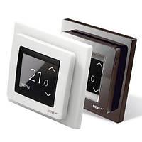 DEVIreg Touch Терморегулятор с сенсорным дисплеем и интеллектуальным таймером белый