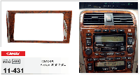 Рамка переходная Carav 11-431 Toyota Avalon 00-04 2DIN