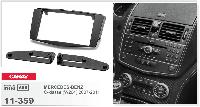 Рамка переходная Carav 11-359 Mercedes-Benz C-class 07-11 2DIN