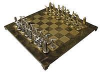 Шахматы  Manopoulos 670018 54х54 см бронзовые