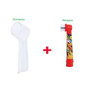 Насадка для детской электрощетки Oral-B  (микимаус) 1 шт. + защитный колпачок, фото 1