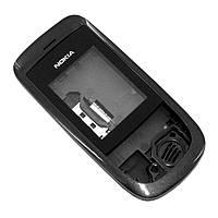 Корпус для Nokia 2220, с клавиатурой, черный, оригинал