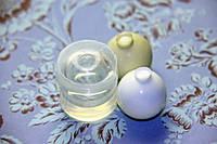 Молд шар для заливки эпоксидной смолы 16-17 мм прозрачный силикон США, фото 1