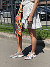 Сандалии кожаные женские Carlo Pachini белые с серебром, фото 4
