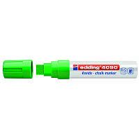 Маркер Window e-4090 4-15 мм клиновидн. зелёный, edding, 4090