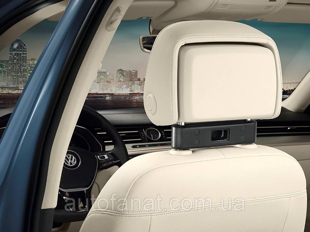 Оригинальное базовое крепление на подголовник переднего сидения Volkswagen (000061122)
