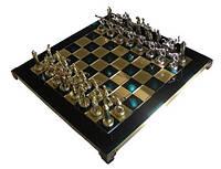 Шахматы Manopoulos 670025 36х36 см бронзовые