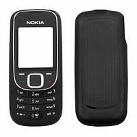 Корпус для Nokia 2323 с клавиатурой, черный, оригинал