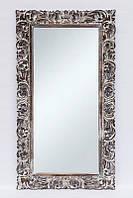 """Зеркало настенное BST 530078 180*80 см коричневое """"Цветок"""""""