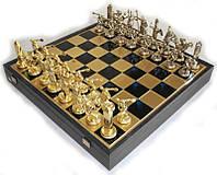 Шахматы Manopoulos 670028 48х48 см бронзовые, фото 1