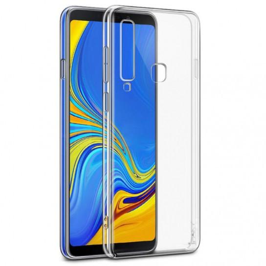 TPU чехол iPaky Clear Series (+стекло) для Samsung Galaxy A9 (2018) Бесцветный (прозрачный)